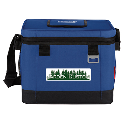 Blue 24 Can Klondike 42 Hour Cooler - Full Color Transfer