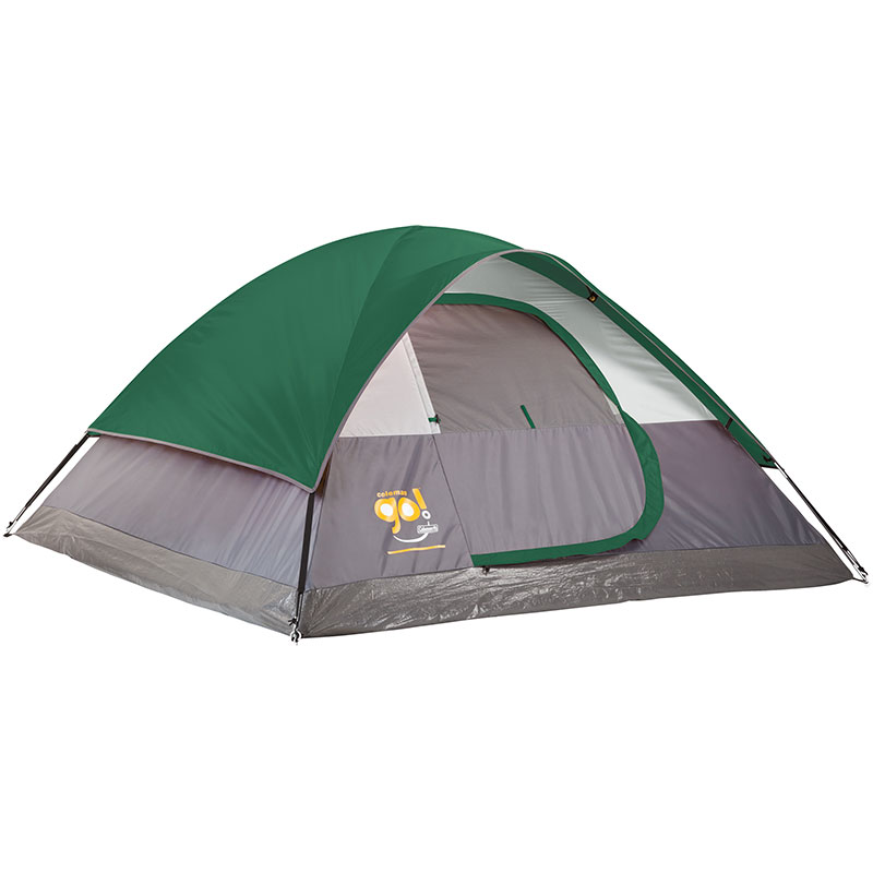 Coleman 9 x 7 Go! 4-Person Dome Tent - Jarden Custom
