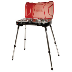 Red Coleman Fyremajor 3-in-1 Propane Stove & Grill