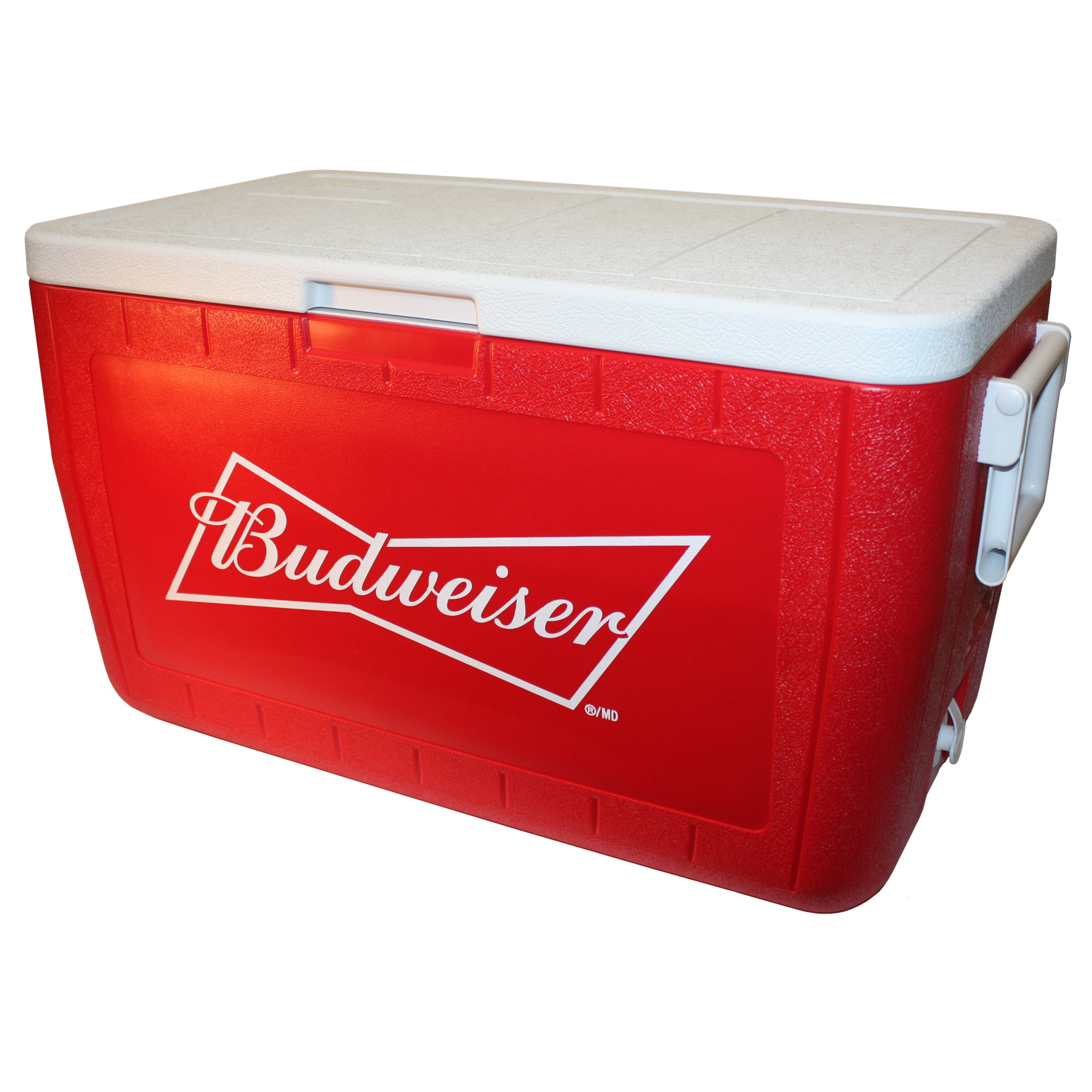 Budweiser logo on Cooler