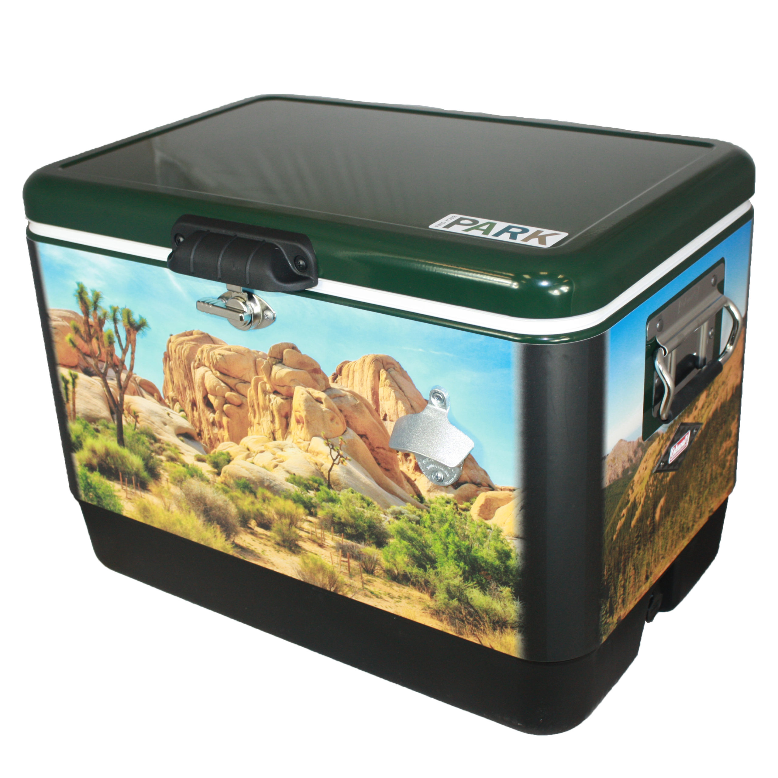National Park Wrap on Cooler