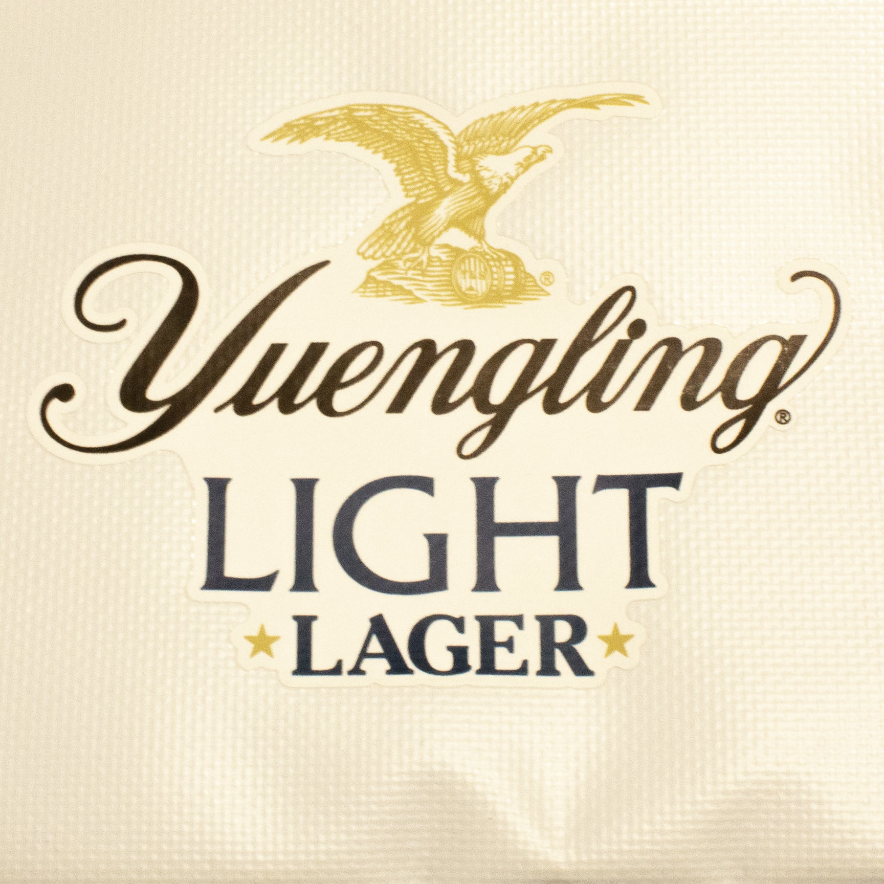 Yuengling logo full color transfer