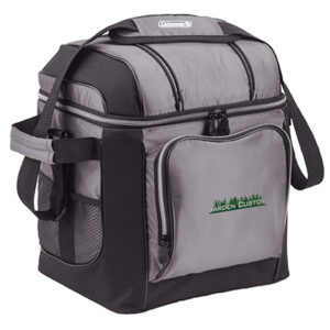 Gray 30 Can Soft Cooler with Liner - Embroidery