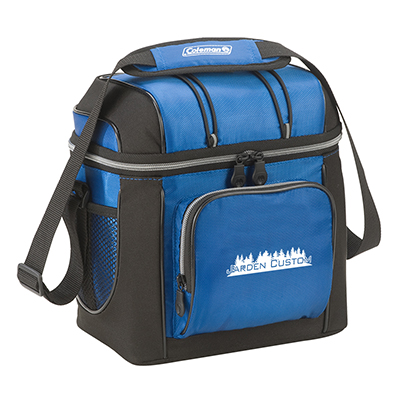 Blue 16 Can Soft Cooler with Liner - Screen