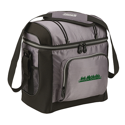 Gray 16 Can Soft Cooler with Liner - Screen