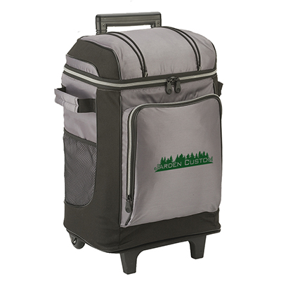 Gray 42 Can Soft Cooler Wheeled - Screen