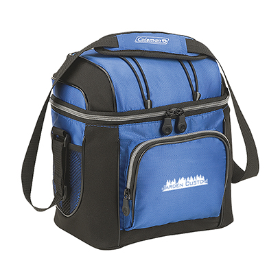 Blue 9 Can Soft Cooler with Liner - Screen