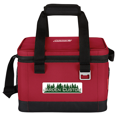 Red 16 Can Klondike 42 Hour Cooler - Full Color Transfer
