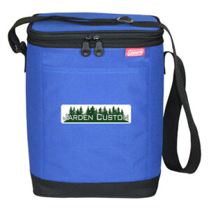 Blue 12-Can Carry-All Cooler - Full Color Transfer