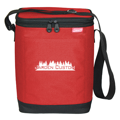 Red 12-Can Carry-All Cooler - Screen