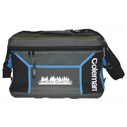 Black/Gray 45 Can Sport Collapsible Cooler - Screen
