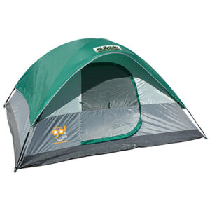 Green/Gray 9x7 Go! 4-Person Dome Tent with Full Color Transfer
