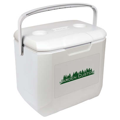 White 30 Qt Performance Chest Cooler - Screen