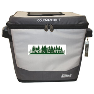 Gray 36 Can Soft Tabletop Bucket - Full Color Transfer Front