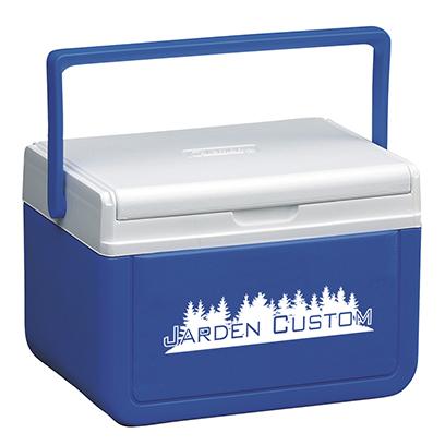 Blue 5 Qt Cooler - Screen