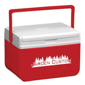 Red 5 Qt Cooler - Screen