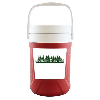 Red 1 Gallon Jug - Decal