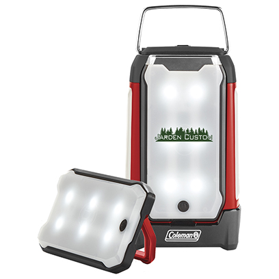 Red/Black Duo Pro Panel Lantern with Screen Print