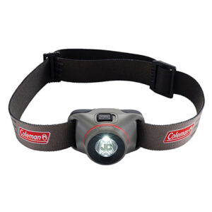 Black/Gray BatteryGuard Headlamp 100L with Screen Print on Light