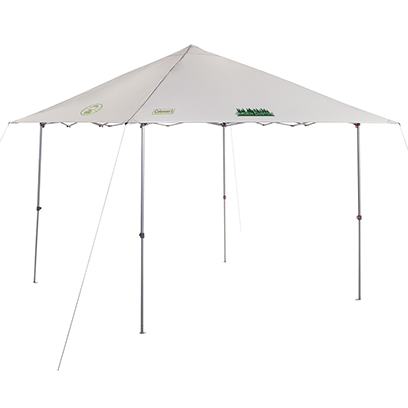 Gray Coleman 10x10 Instant Sun Shelter with Green Screen Print
