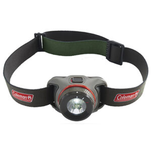 Black/Gray BatteryGuard Headlamp 250L with Screen Print on Light