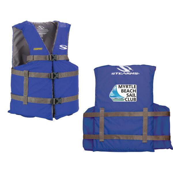 Blue Adult Life Jacket